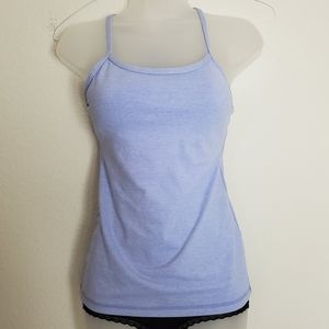 Lululemon Light Blue Workout Tank Top